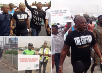 Charly Boy - Return or Resign Protest
