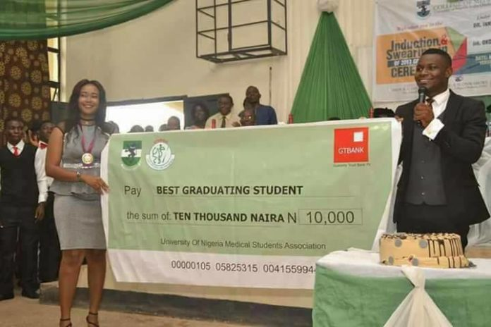UNMSA awards best graduating student N10000