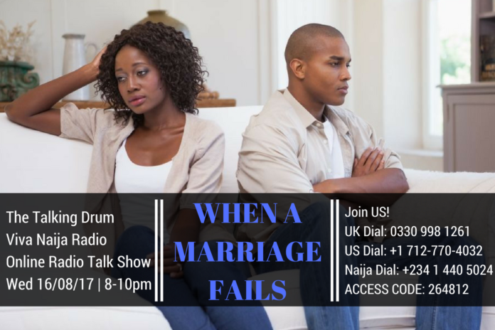 When A Marriage Fails - the talking drum