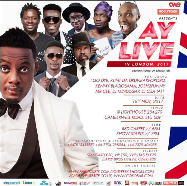 AY Live in London