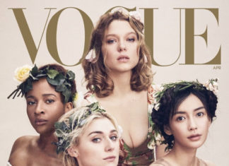 Adesua Etomi on the cover of Vogue Magazine