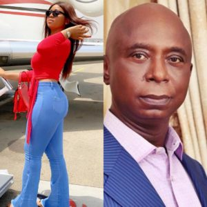 Ned Nwoko and Regina Daniels, a thing