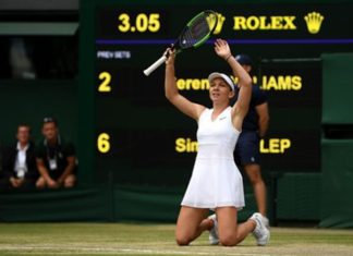 Simona Halep Wins Wimbledon Serena Williams