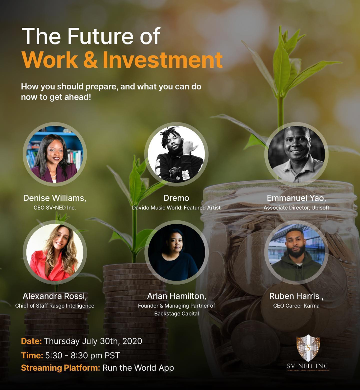 Future of Workforce and Investment - Official Flyer